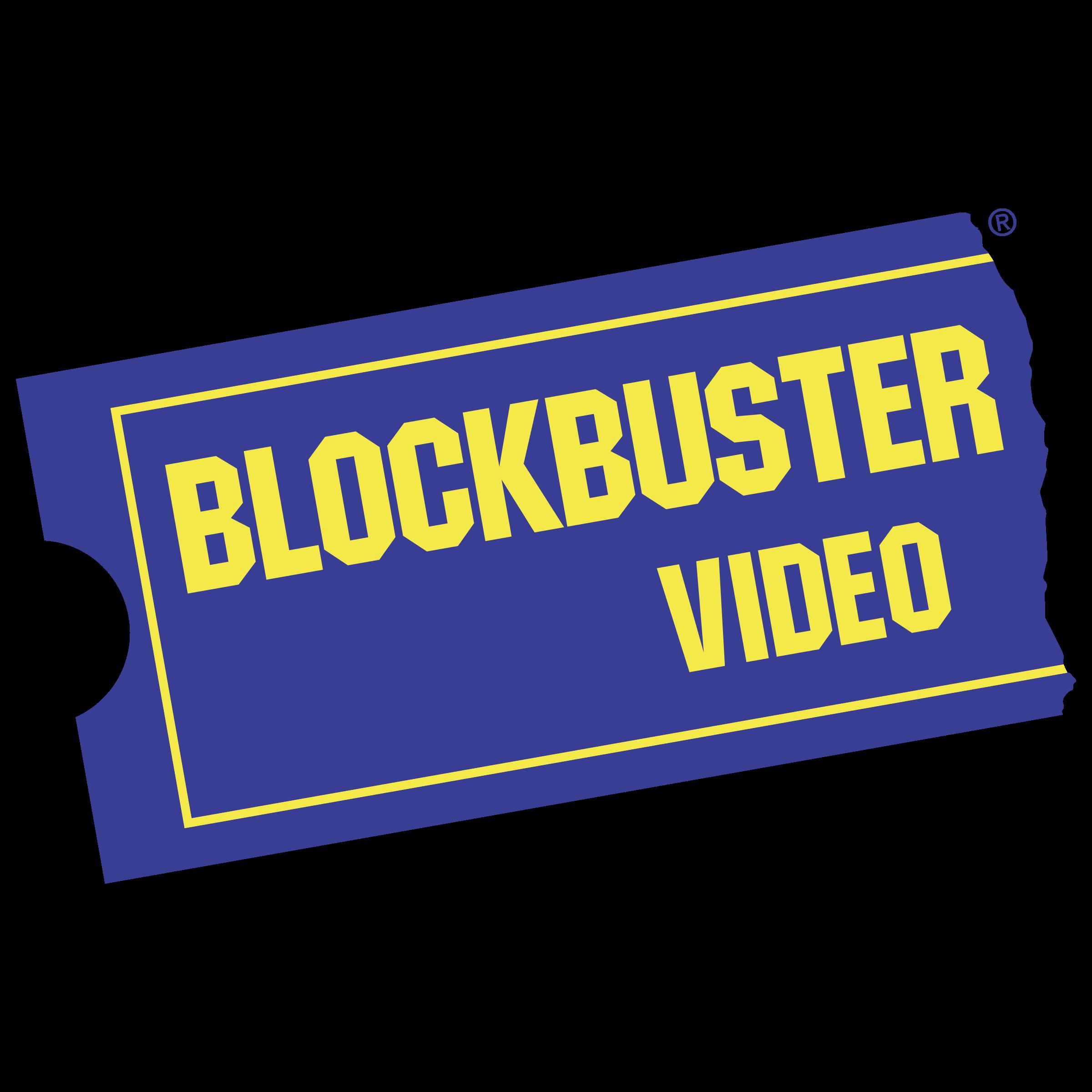 Blockbuster Video Logo PNG Transparent & SVG Vector.