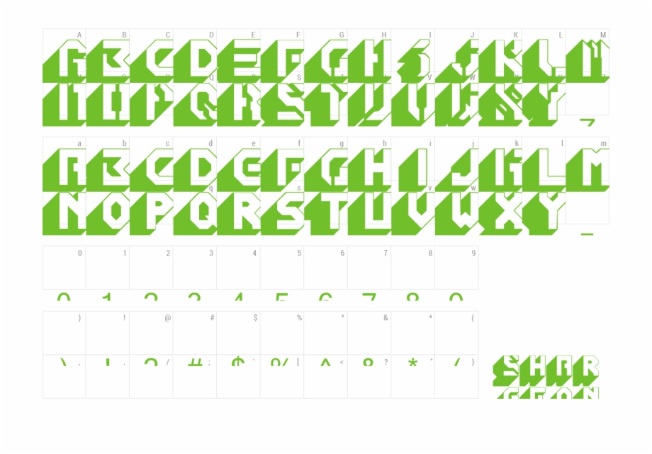 Font Blockbuster Preview.