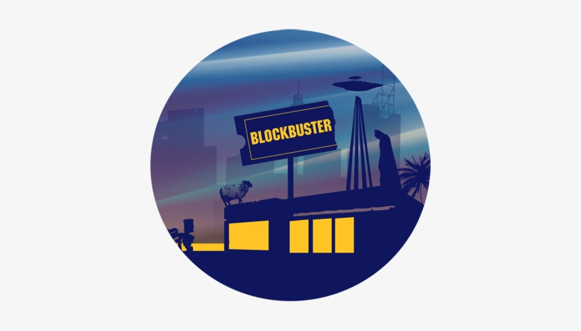 Blockbuster Store Png Transparent PNG.