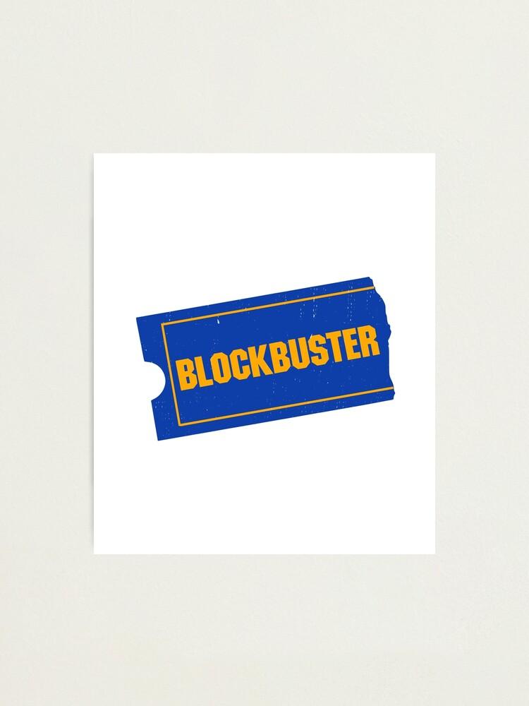 Blockbuster Video Logo.