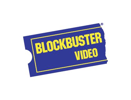 Blockbuster Video Vector Logo.