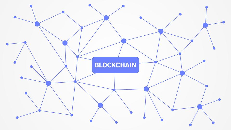 Blockchain Cryptocurrency Network.