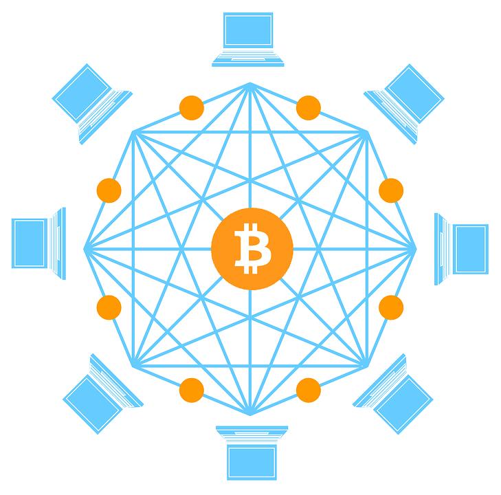Bitcoin Cryptocurrency Money.