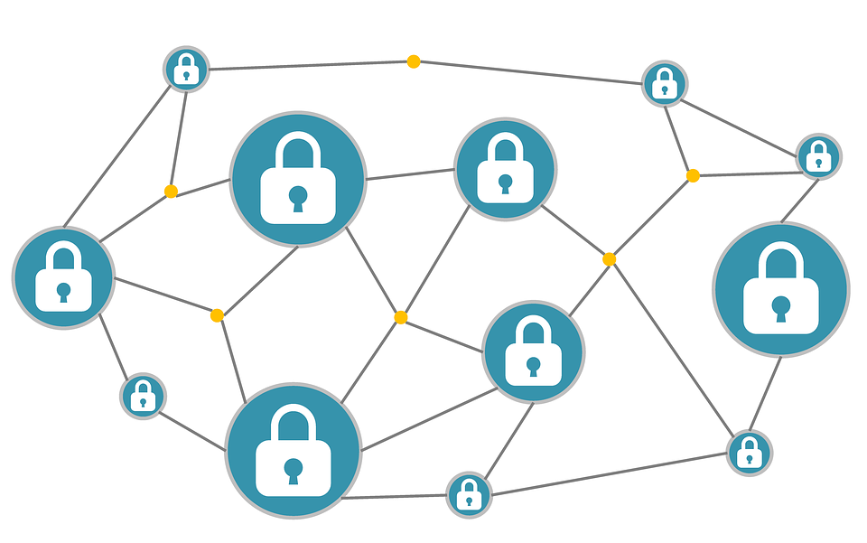 Blockchain Cryptocurrency Money.