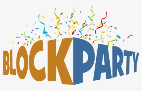 Free Block Party Clip Art with No Background.