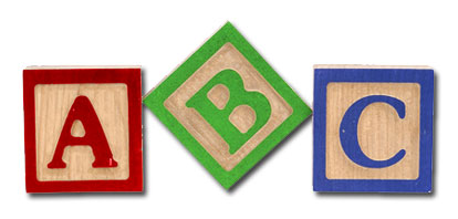 Image of Abc Blocks Clipart #2493, Abc Alphabet Blocks Clipart.