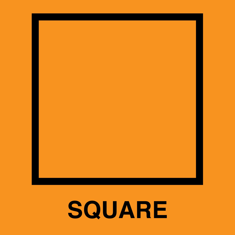 Square Shape Clipart.