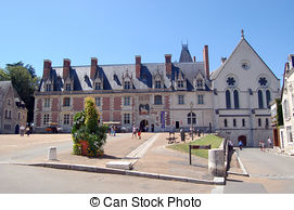 Picture of The Royal Chateau de Blois. Interior of the Francis I.