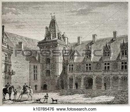 Stock Illustration of Chateau de Blois k10785476.