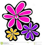 Blommor clipart.