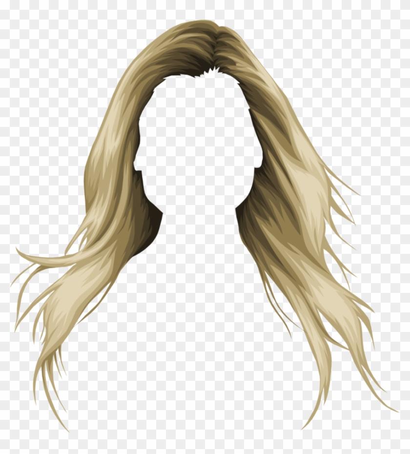 Long Hair Clipart Dirty Blonde Hair.
