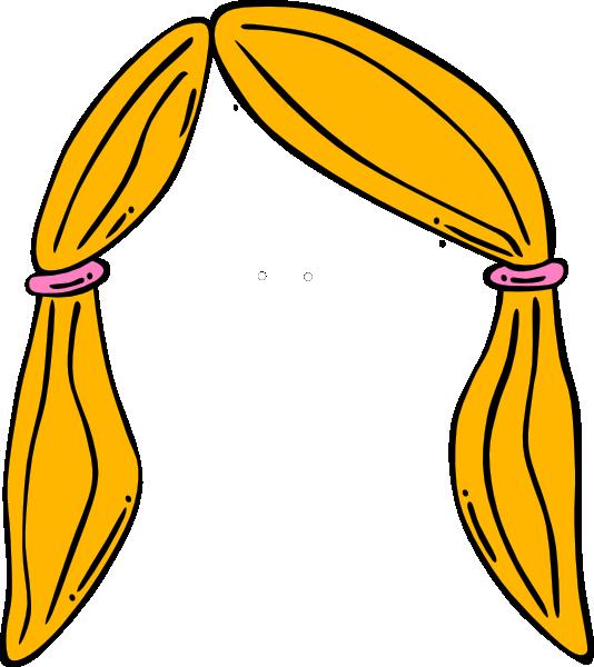 Blonde Hair Clipart.