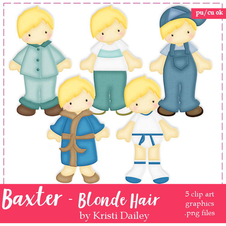 Baxtor with Blonde Hair.