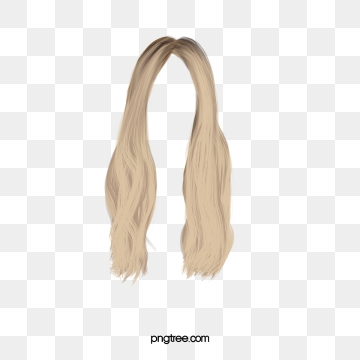 Blonde Hair Png, Vector, PSD, and Clipart With Transparent.