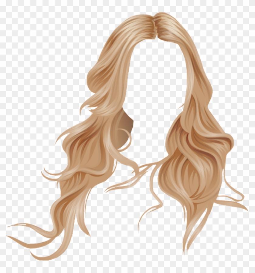 Blonde Wig Transparent.