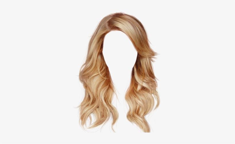 Blonde Hair Png.