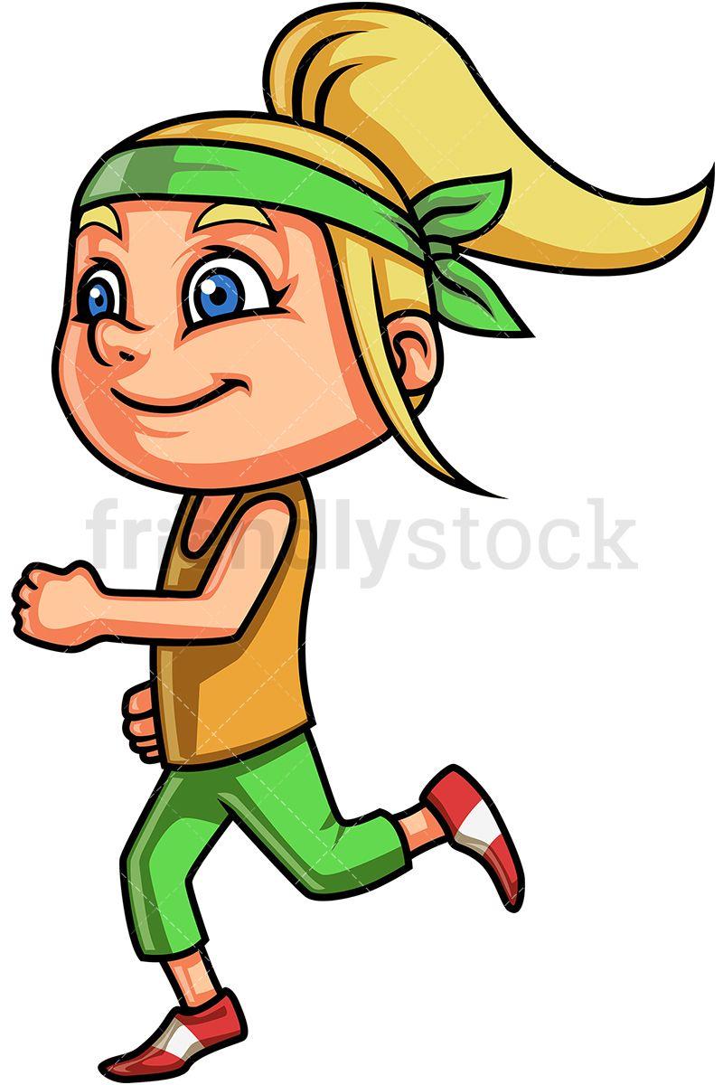 Little Girl Running in 2019.