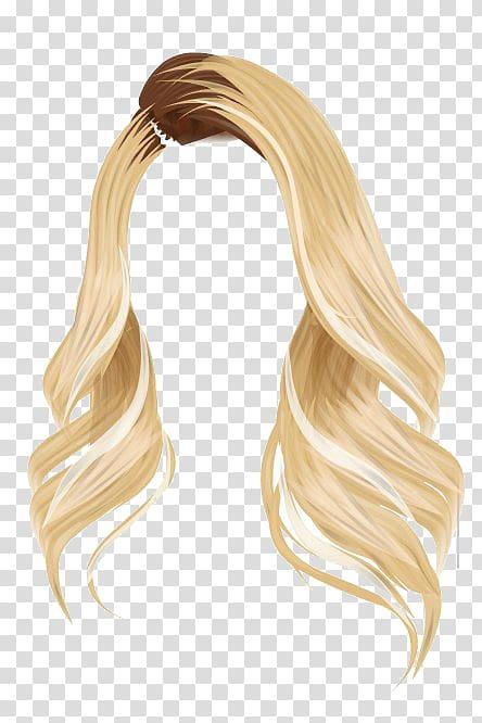 Stardoll Wig Brown hair Blond, hair blonde transparent background.