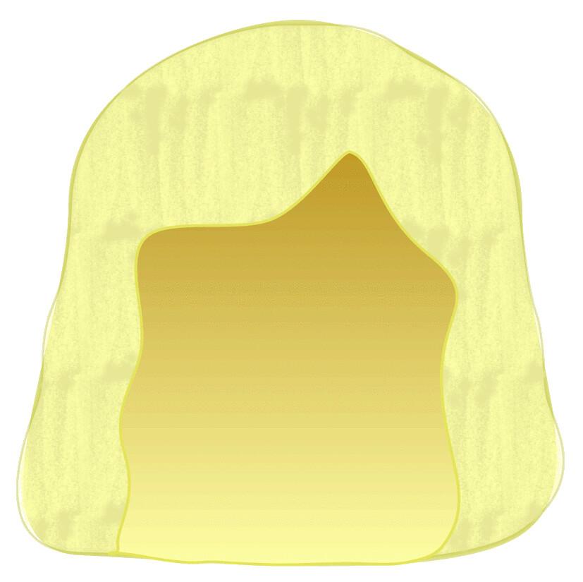 blonde wig sketch clipart lge 14 cm.