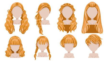 332 Blonde Wig Cliparts, Stock Vector And Royalty Free Blonde Wig.