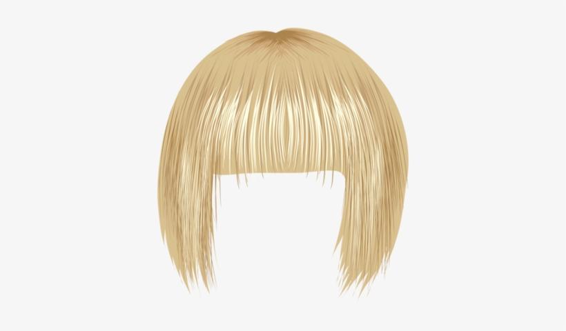 Blonde Wig PNG Images.