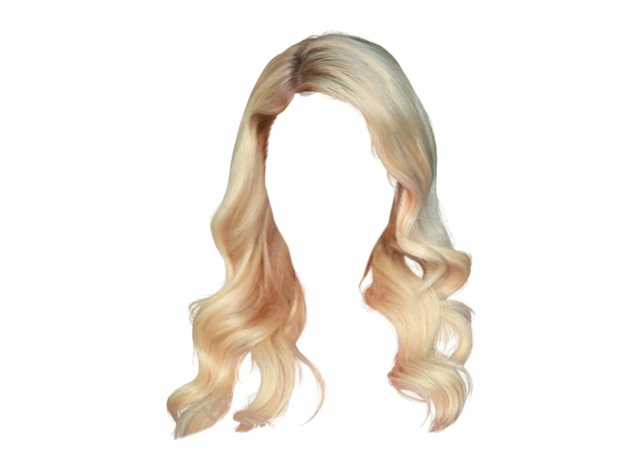 Blonde Wig Png Free PNG Images & Clipart Download #507154.