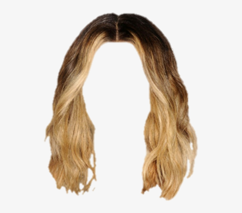 Hair Wig Extensions Blonde Hairstyle.