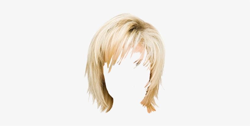 Blonde Hair Wig Png Jpg Transparent Stock.