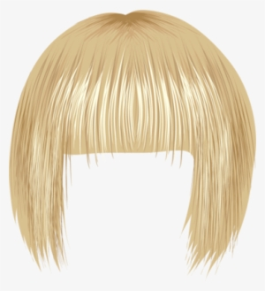 Blonde Wig Png PNG Images.