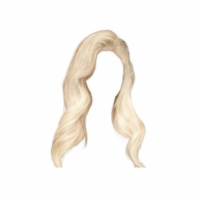 Result for blonde wig png.