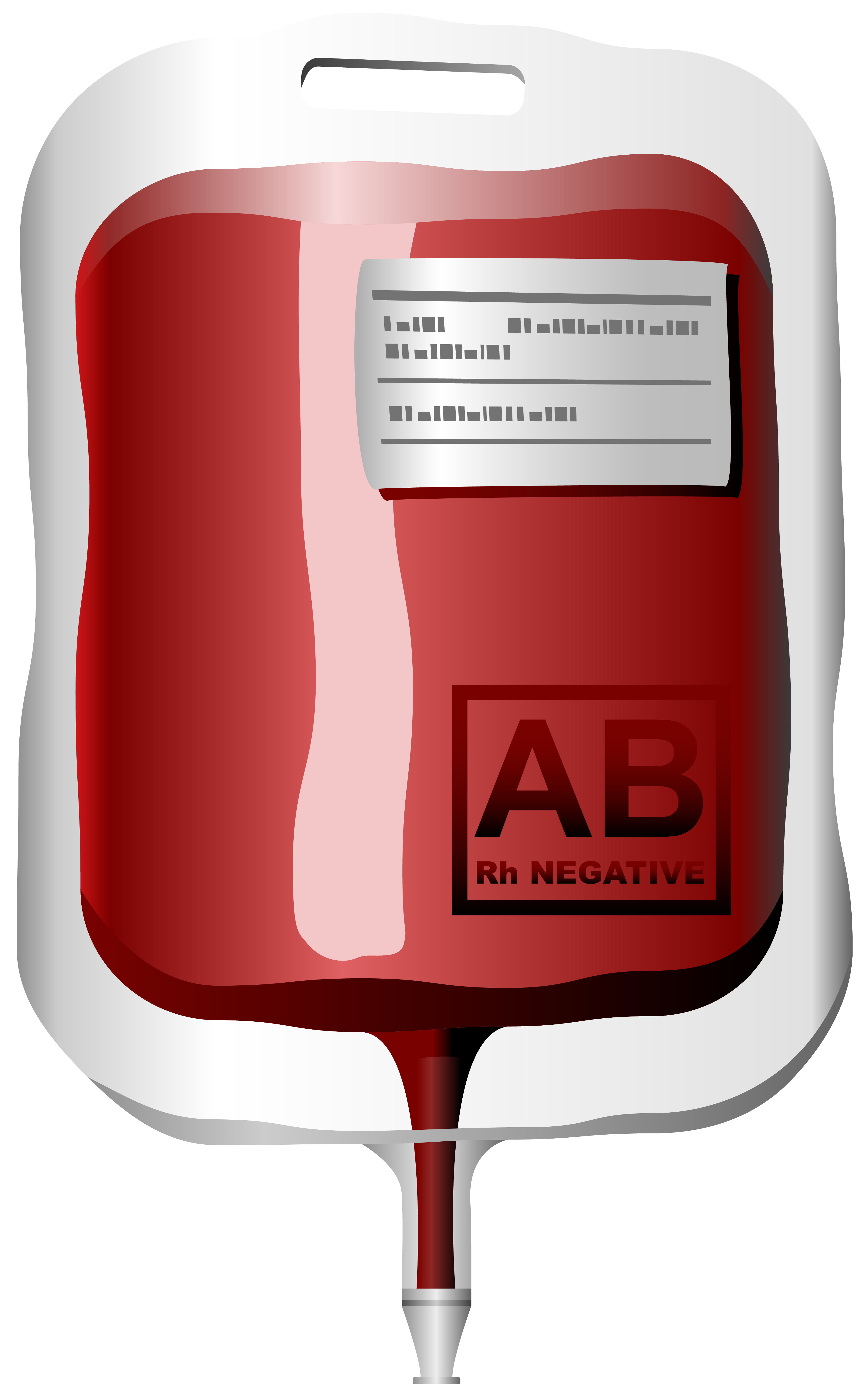 Blood Bag PNG Clipart.