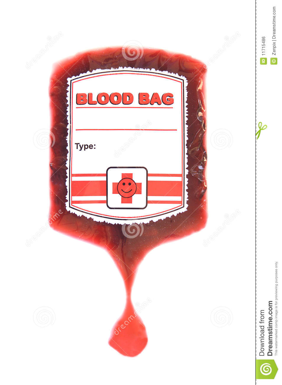 Blood Bag Clipart.