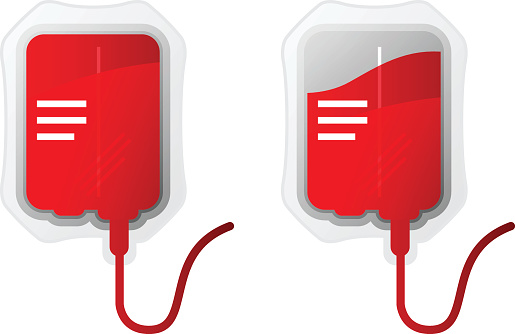 Blood Bag Clip Art, Vector Images & Illustrations.