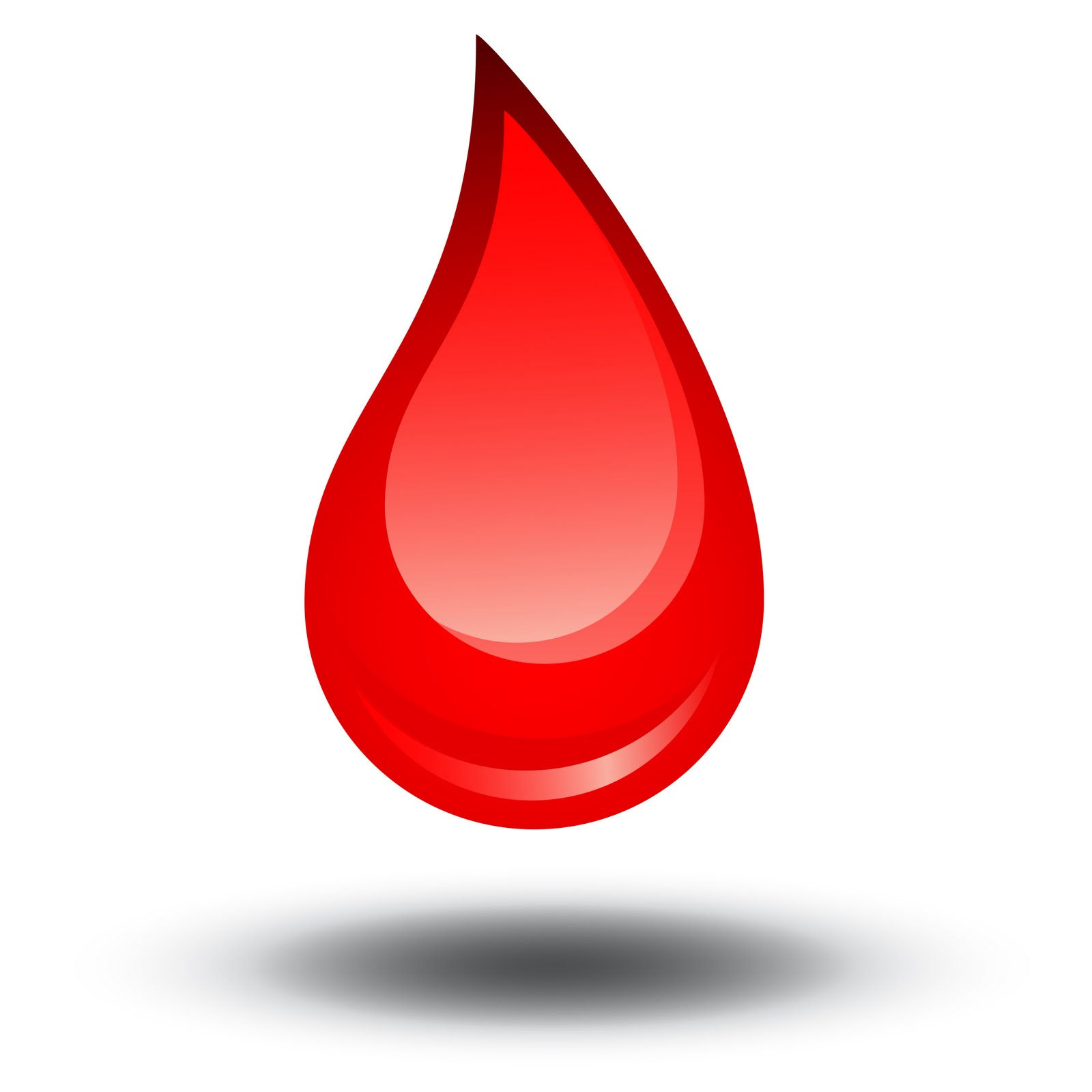 Blood Drop Clipart Images.