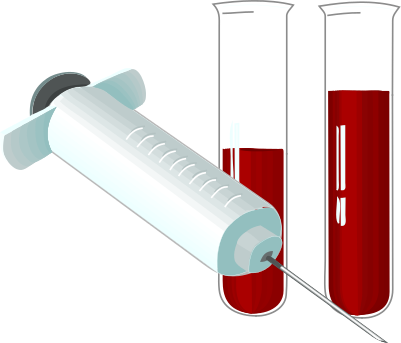 Blood Test Clipart.