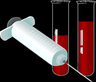 Blood Test Clipart.