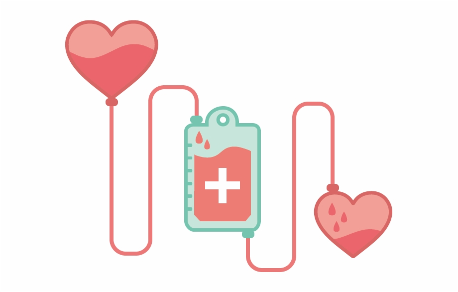 Love Transfusion Donation Vector Blood Donor World.