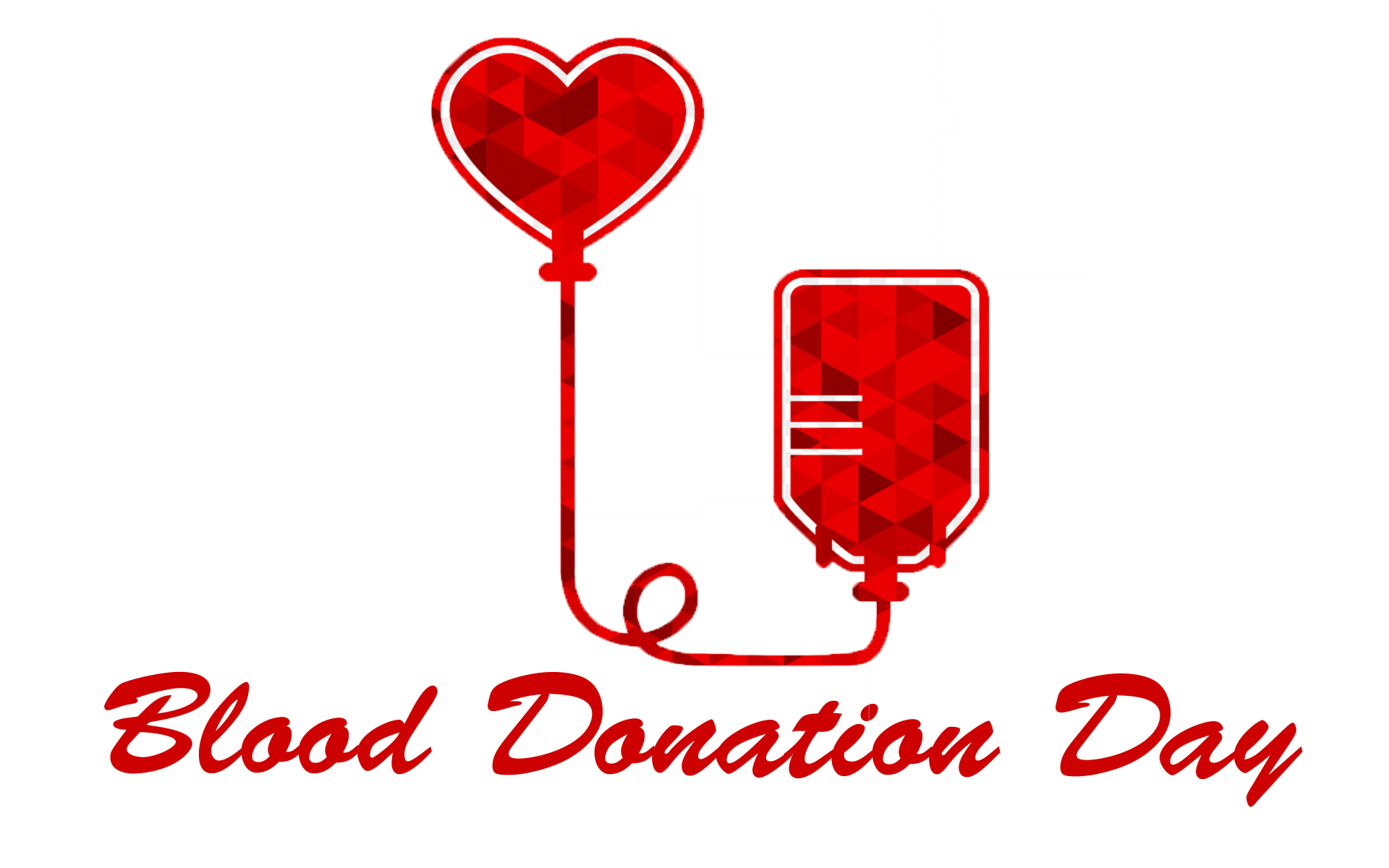 Blood Donation Day Transparent Free PNG.