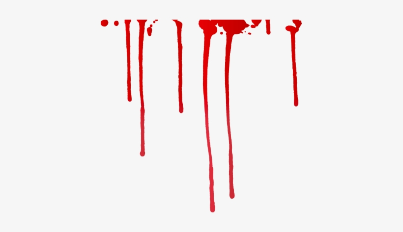 Banner Transparent Download Blood Dripping Clipart.