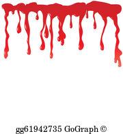 Dripping Blood Clip Art.
