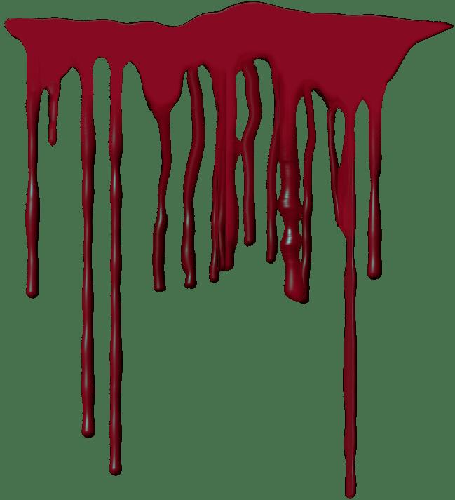 Blood Drip transparent PNG.