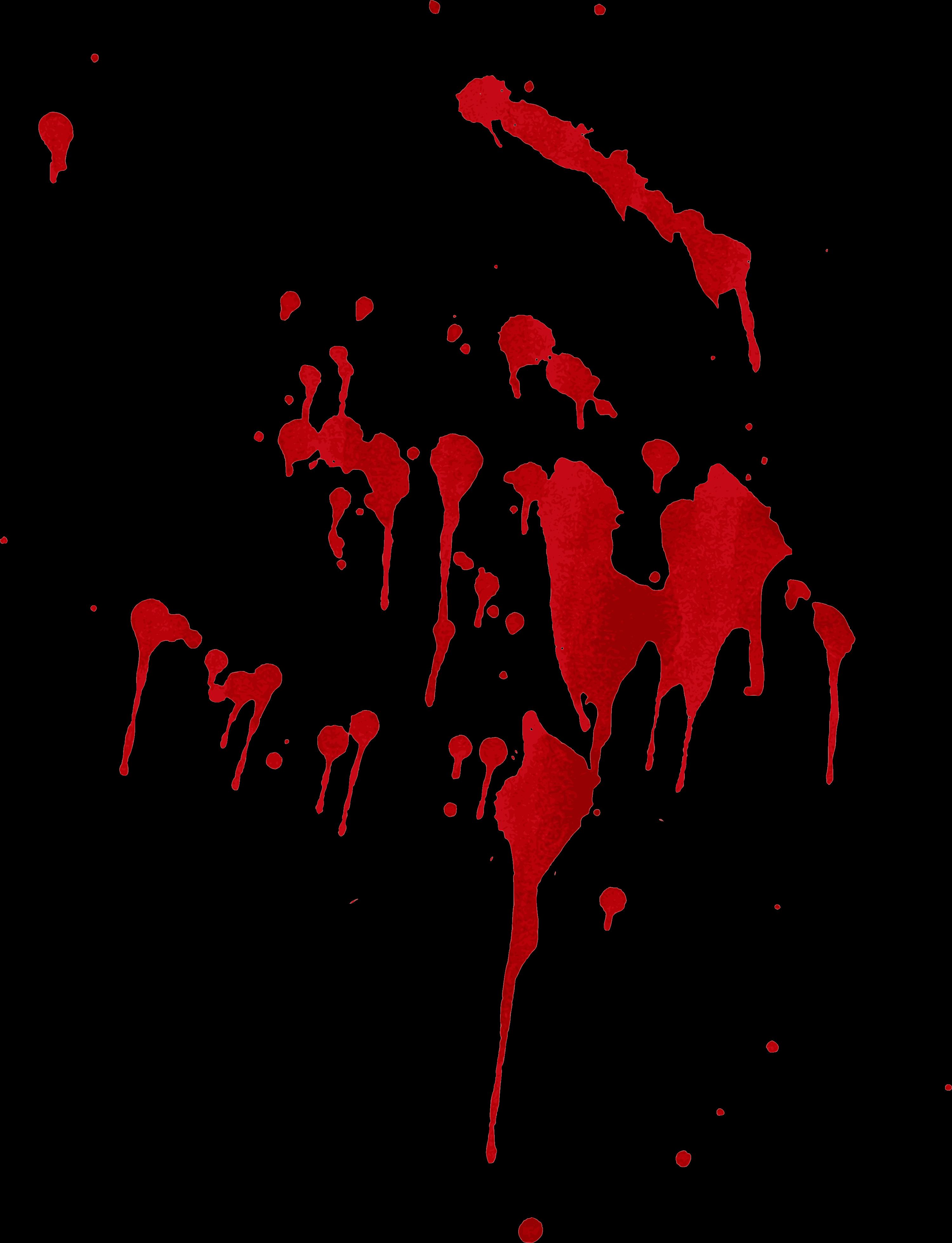 8 Blood Splatter Drip (PNG Transparent).