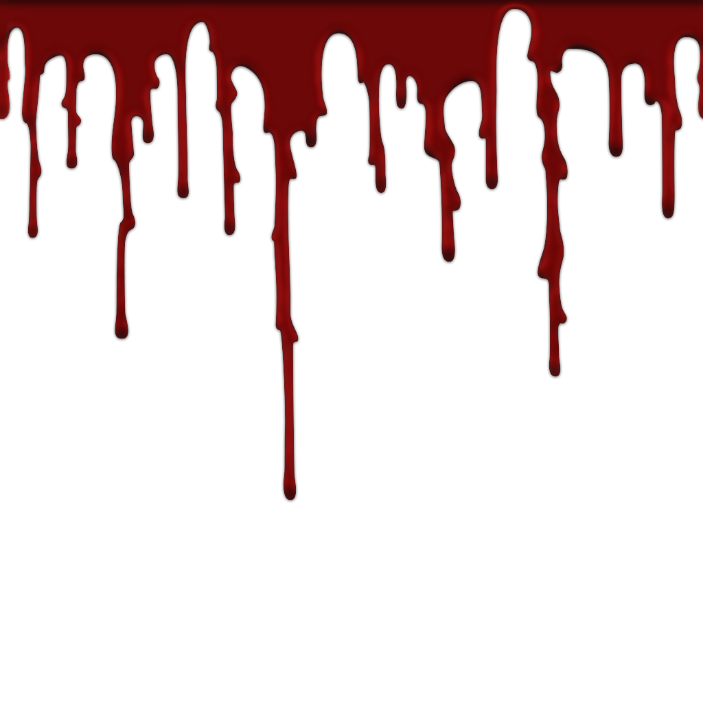 Blood Drip PNG Images.