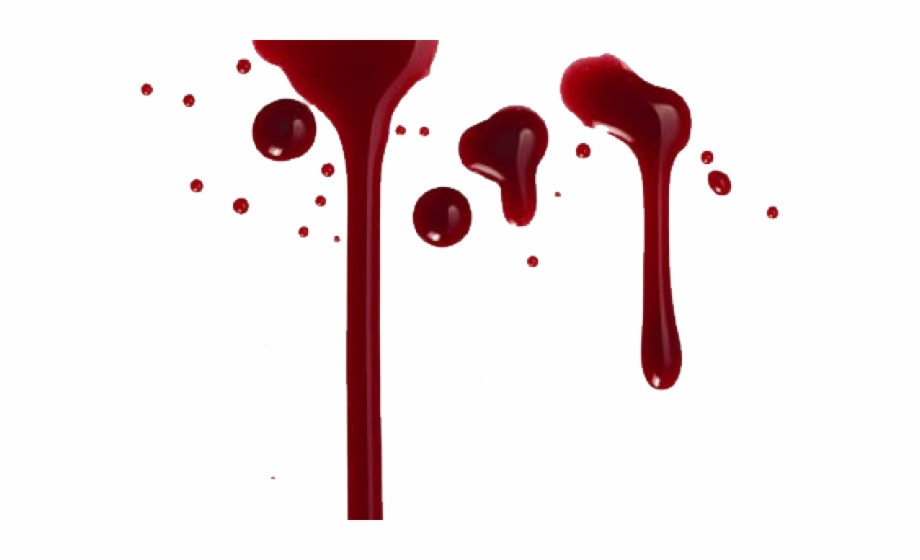 Blood Drips, Transparent Png Download For Free #2351909.
