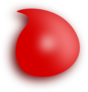 Blood drop drop of blood clip art at clker vector clip art image.