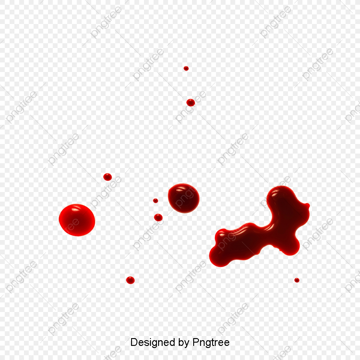 Realistic Drops Of Blood, Blood Clipart, Blood Drop, Realistic PNG.