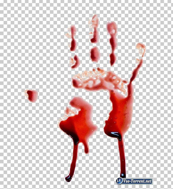 Blood Printing Hand PNG, Clipart, Blood, Bloody, Body Fluid.