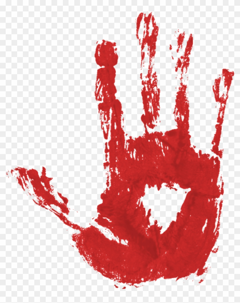 Blood Hand Print Pgntreecom Bloody Halloween.
