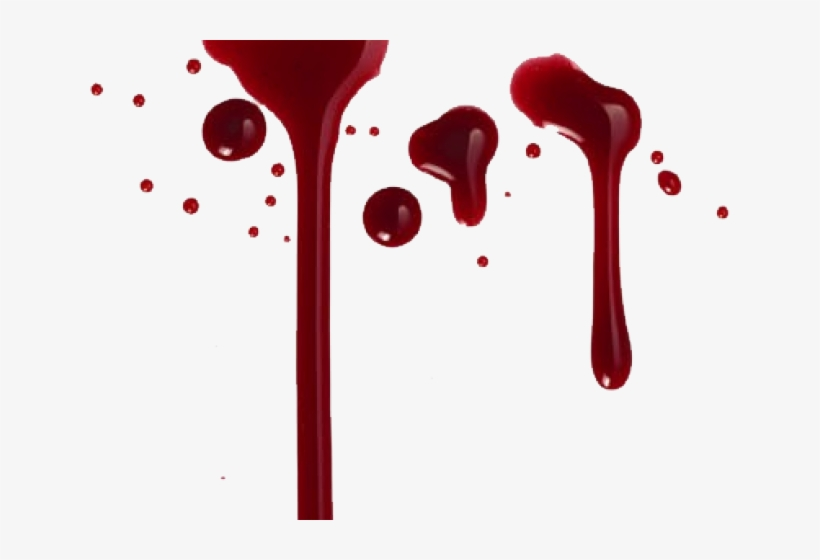 Write Name In Blood PNG Image.