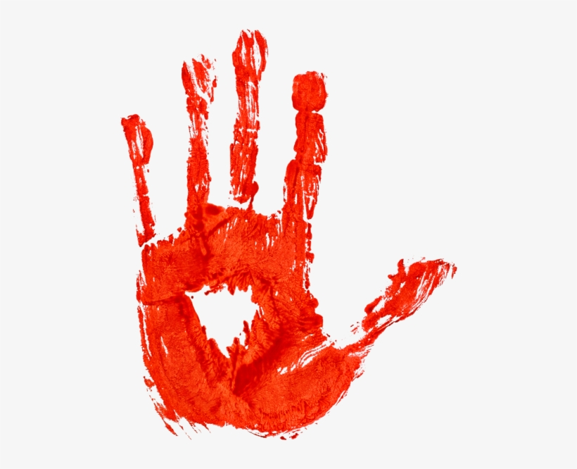 Blood Hand Png.